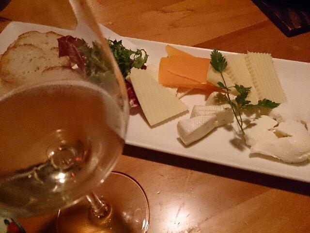 白&チーズ
